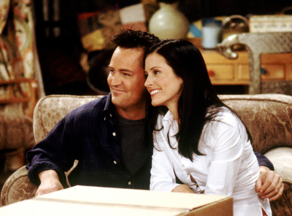 Courteney Cox, Matthew Perry, Friends, First Time