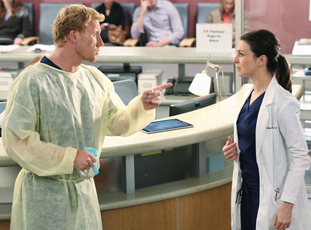 Grey's Anatomy, Couples, Kevin McKidd, Caterina Scorsone