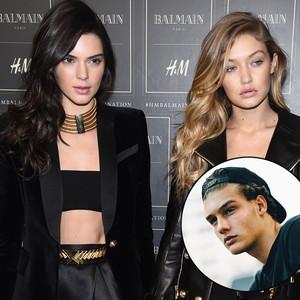 Kendall Jenner, Gigi Hadid, John Economou