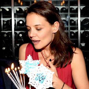 Katie Holmes, Zac Posen, Birthday