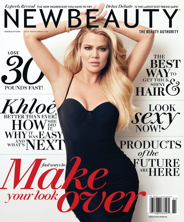 New Beauty From Khloe Kardashian's Covers