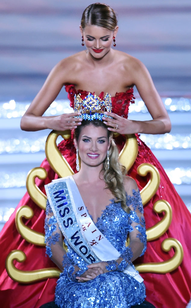 Mireia Lalaguna Royo, Miss World Spain, Winner 2015