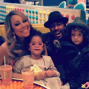 Nick Cannon Reunites With Mariah Carey and Their Twins ...