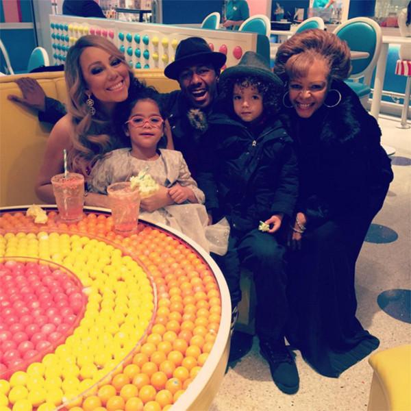 Nick Cannon, Mariah Carey, Monroe, Morrocan