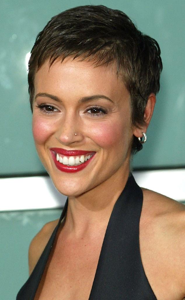 Alyssa Milano, Short Hair
