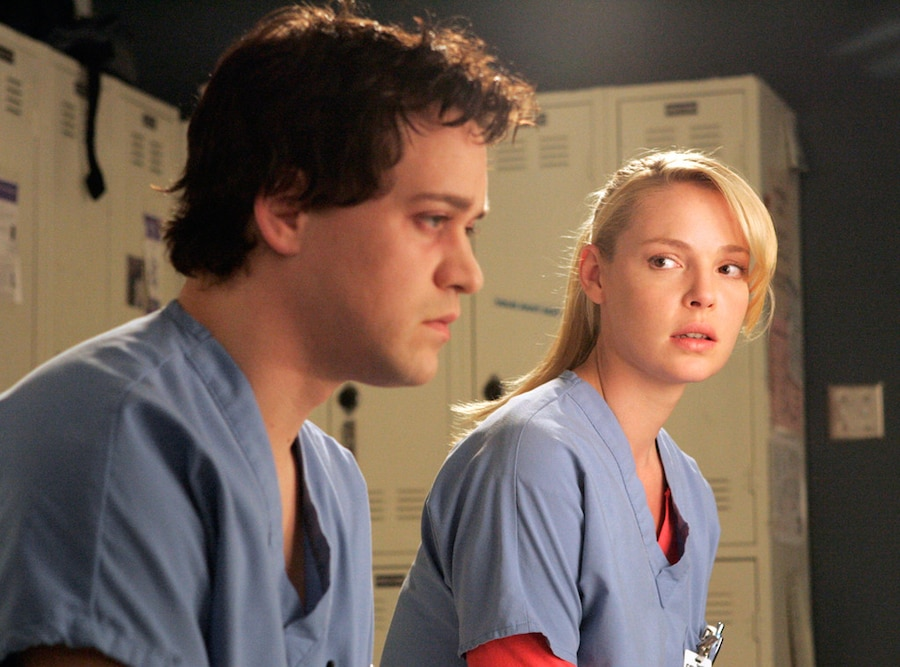T.R. Knight, Katherine Heigl, Grey's Anatomy, Worst TV Couples
