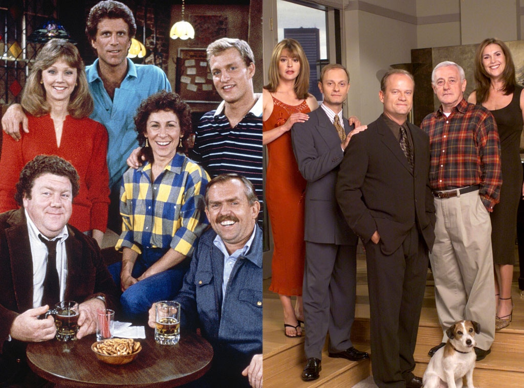Original vs. Spinoff TV, Cheers, Frasier
