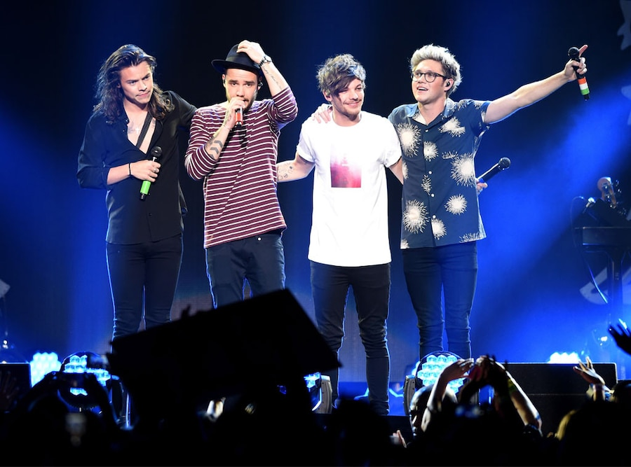 One Direction, Harry Styles, Liam Payne, Louis Tomlinson, Niall Horan, Jingle Ball