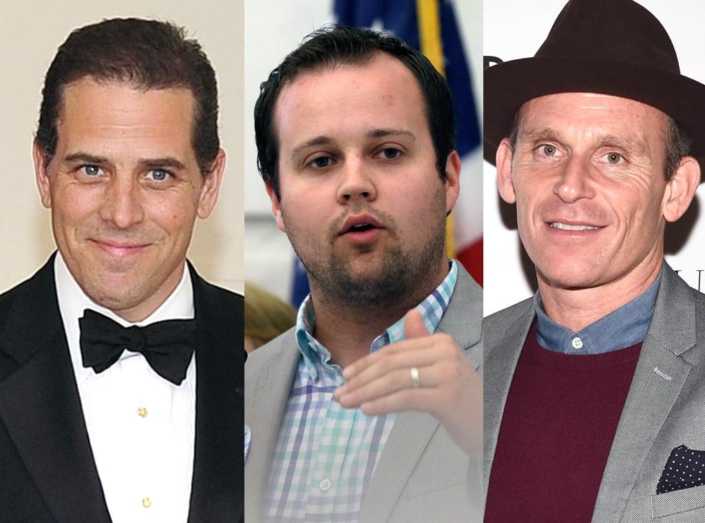 Josh Duggar, Josh Taekman, Hunter Biden, Ashley Madison Scandal
