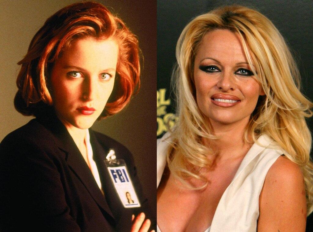X-Files, Pamela Anderson
