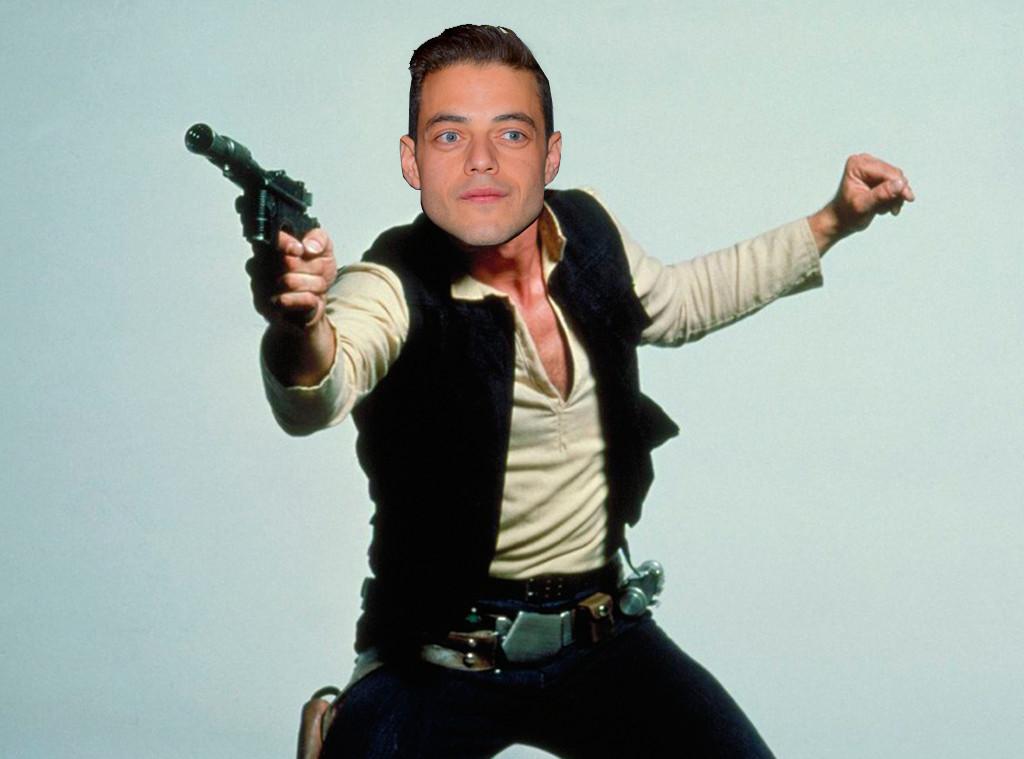 Star Wars, Han Solo Photoshopped