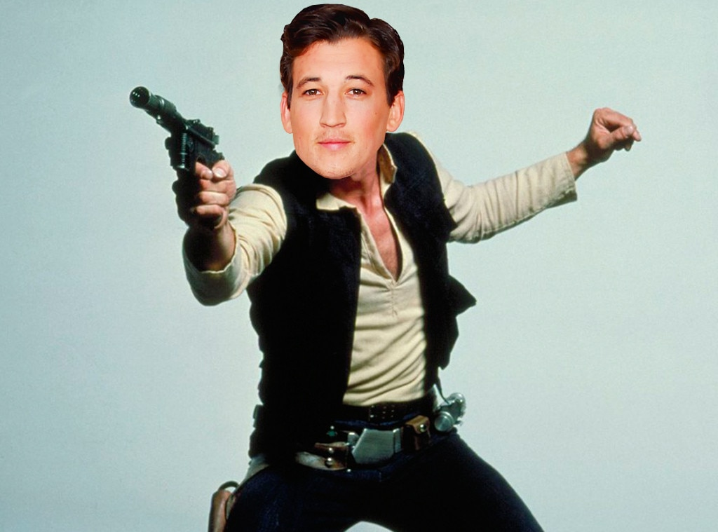 Star Wars, Han Solo Photoshopped