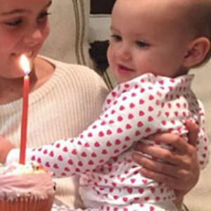Armie Hammer, Harper Hammer, First Birthday