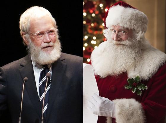 David Letterman, Santa