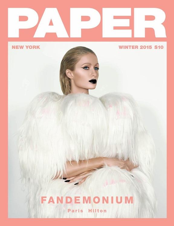 Paris Hilton, Paper Magazine