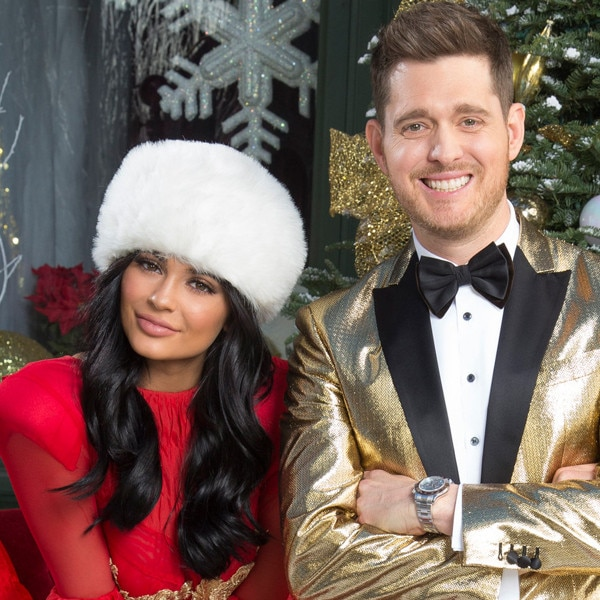 Kylie Jenner Joins Michael Bublé for a Sleigh Ride in a Festive ...