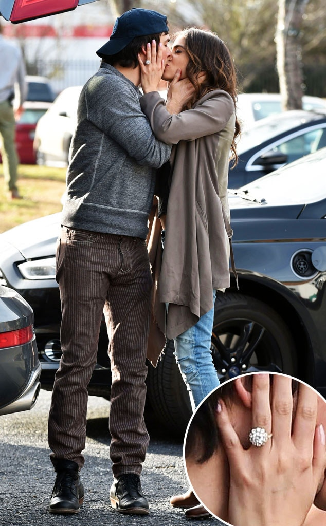 Nikki Reed, Ian Somerhalder, Engagement Ring