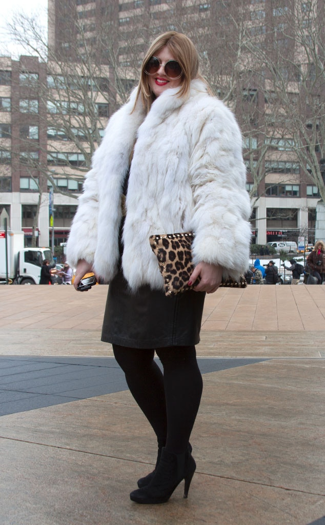 Fanny Zigdon From Street Style At New York Fashion Week