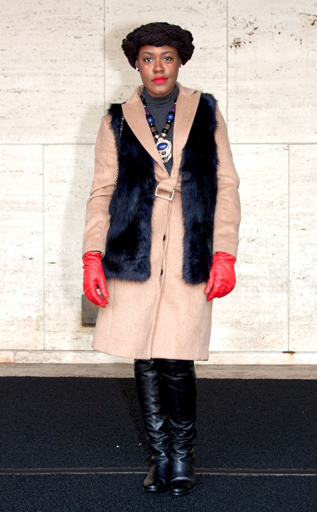 Vanessa lundy from street style at new york fashion week fall 2015 e news Street style ny fashion week fall 2015