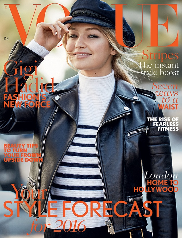 Gigi Hadid, British Vogue