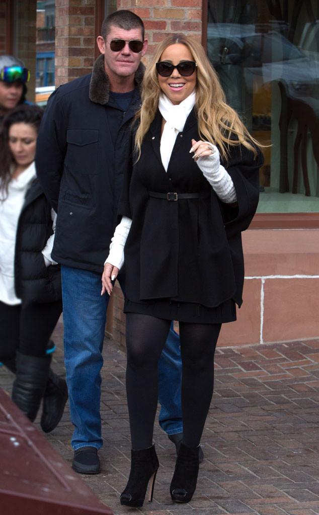 James Packer, Mariah Carey