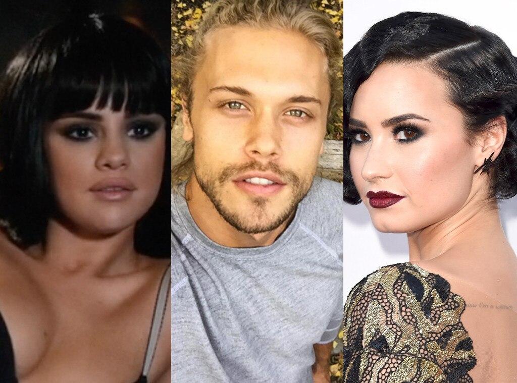Selena Gomez, Christopher Mason, Demi Lovato