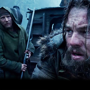 Tom Hardy, Leonardo DiCaprio, The Revenant
