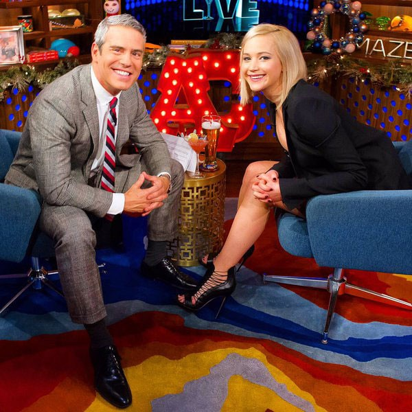 Andy Cohen, Jennifer Lawrence