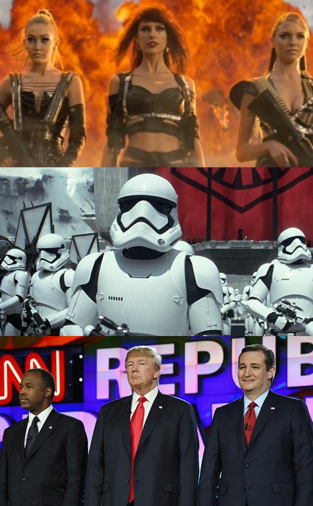 Bad Blood, Star Wars, The Force Awakens, GOP Debate