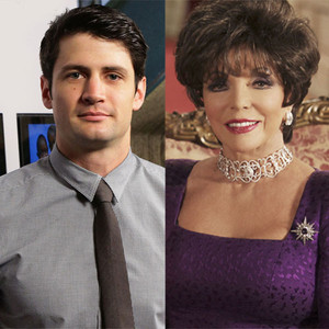 James Lafferty, Joan Collins, The Royals