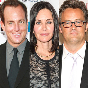 Will Arnett, Courteney Cox, Matthew Perry