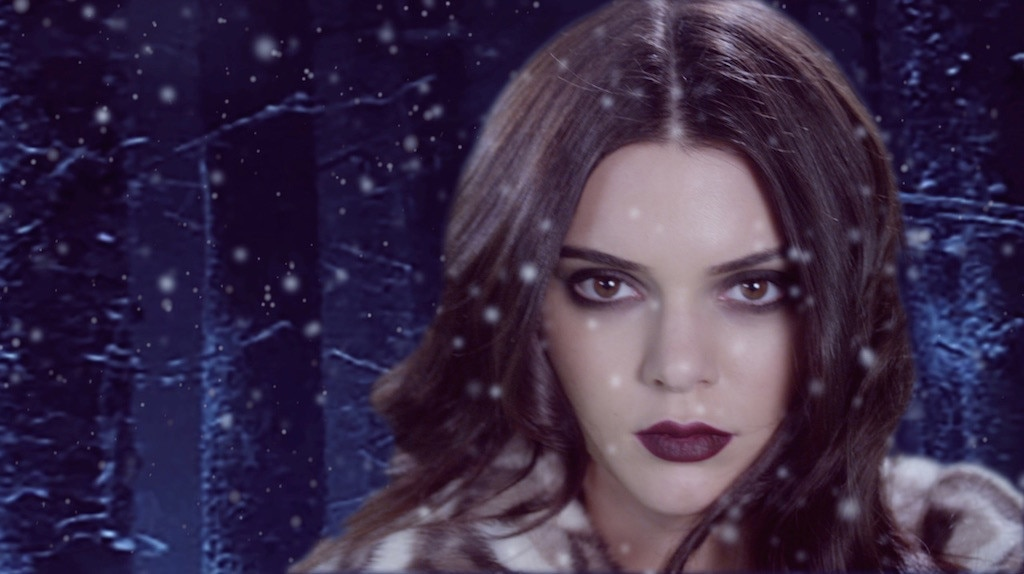 Kendall Jenner, Love Advent Calendar 2015