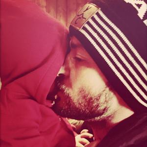 Justin Timberlake, Baby Son Silas, Christmas 2015