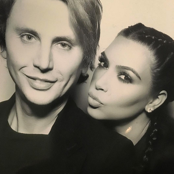 Kim Kardashian, Jonathan Cheban, Kardashian Christmas Eve 2015 Party
