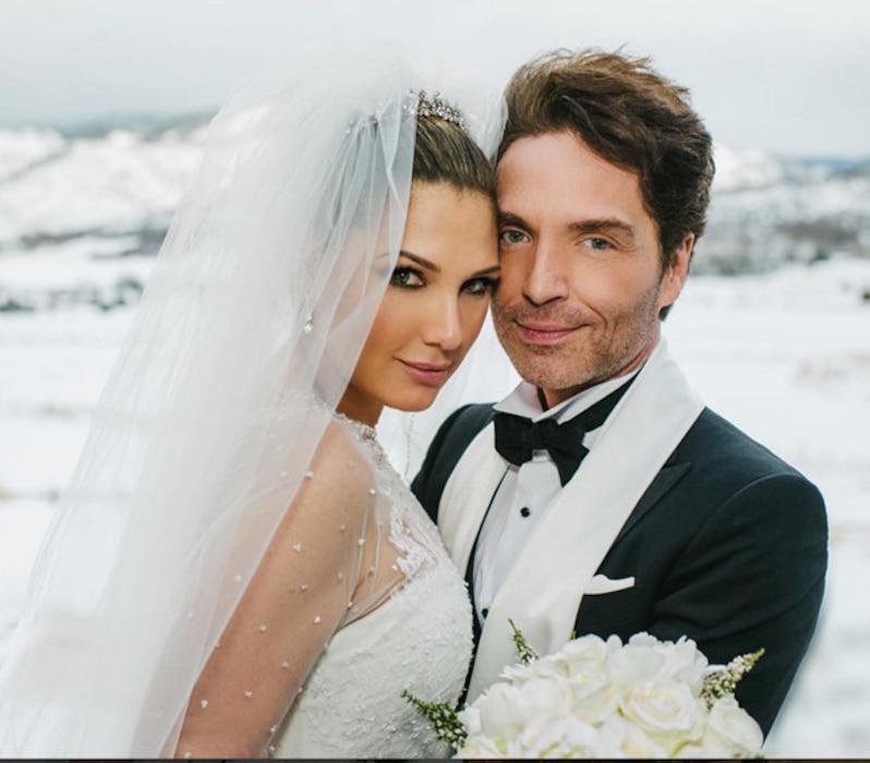 Daisy Fuentes, Richard Marx, Wedding