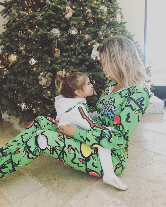 Khloe Kardashian, Penelope Disick, Christmas 2015
