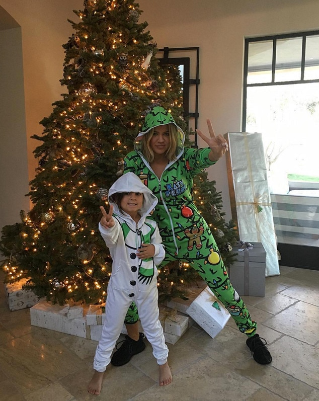 Khloe Kardashian, Mason Disick, Christmas