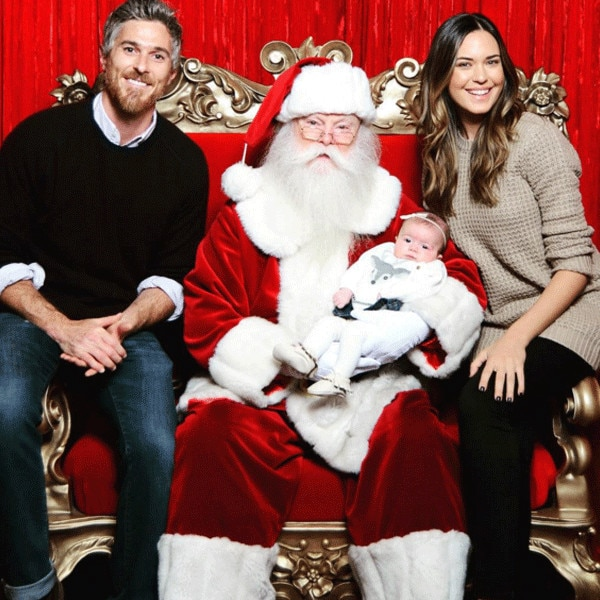 Odette Annable, Dave Annable, Christmas 2015