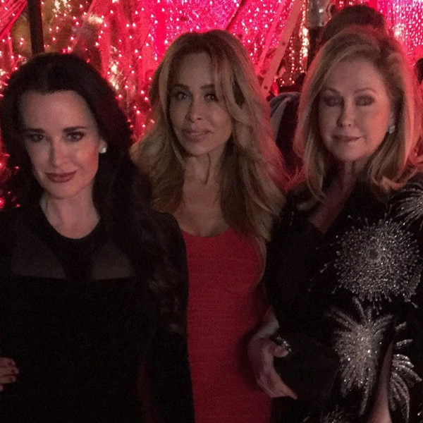 Kyle Richards, Kathy Hilton