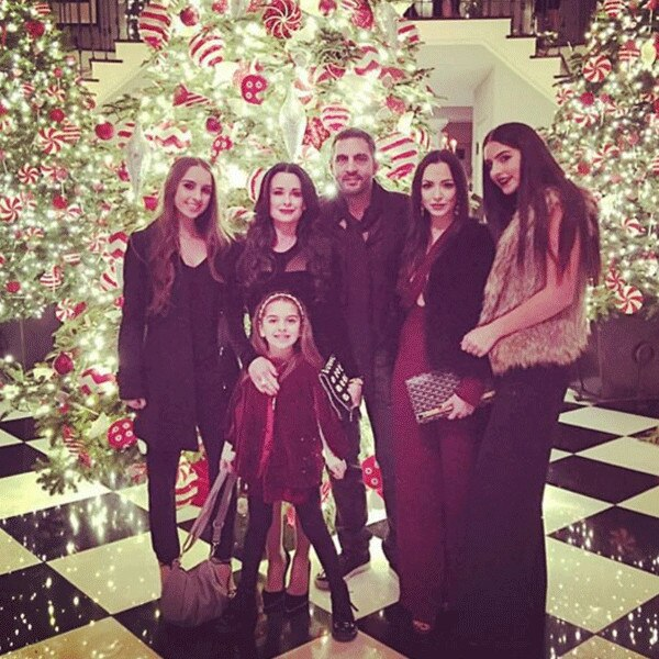 Kyle Richards, Christmas 2015