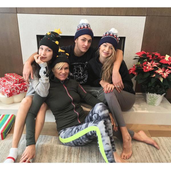 Yolanda Foster, Gigi Hadid, Bella Hadid