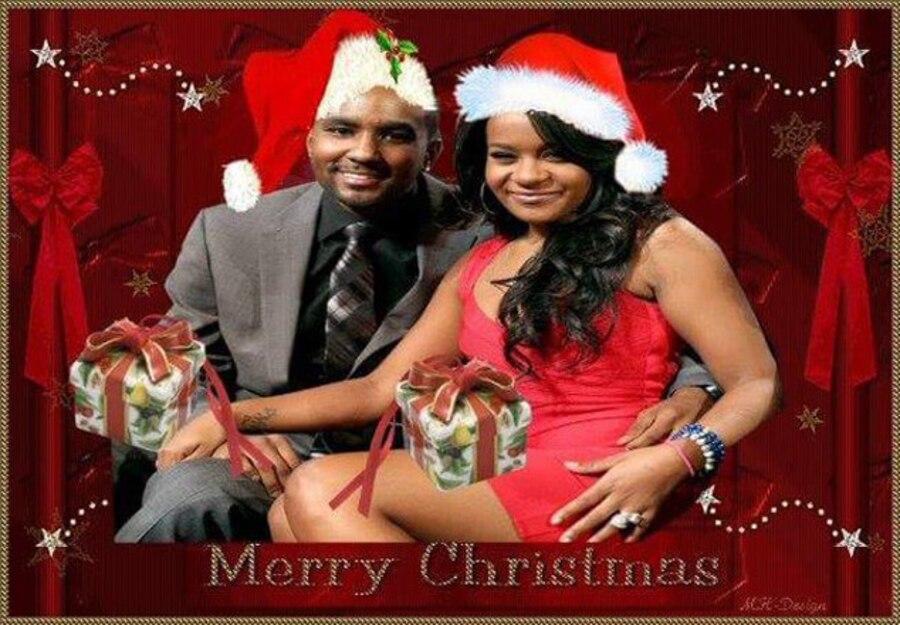 Nick Gordon, Bobbi Kristina Brown, Christmas 2015