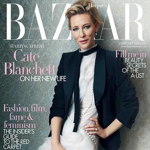Cate Blanchett, Harper's Bazaar UK