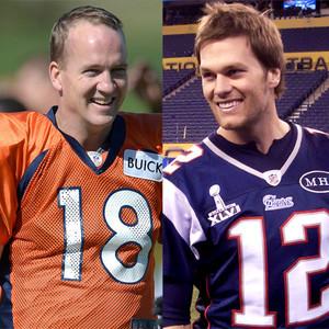 Peyton Manning, Tom Brady