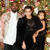 Kim Kardashian, North West, Kanye West, Christmas