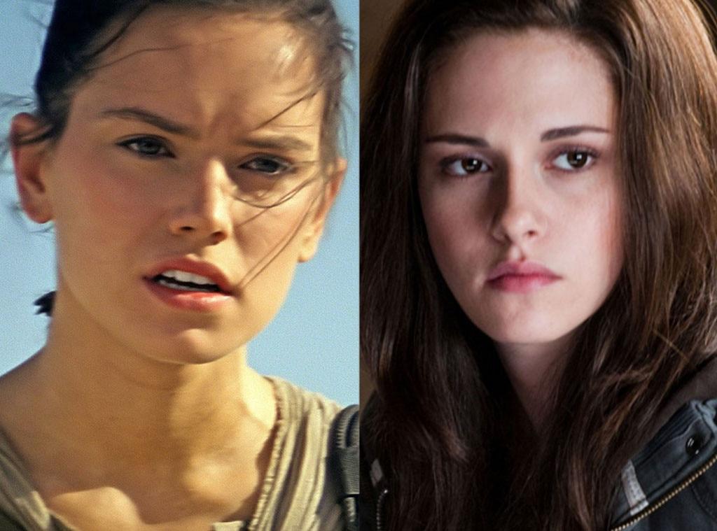Daisy Ridley, Star Wars, Kristen Stewart, Twilight