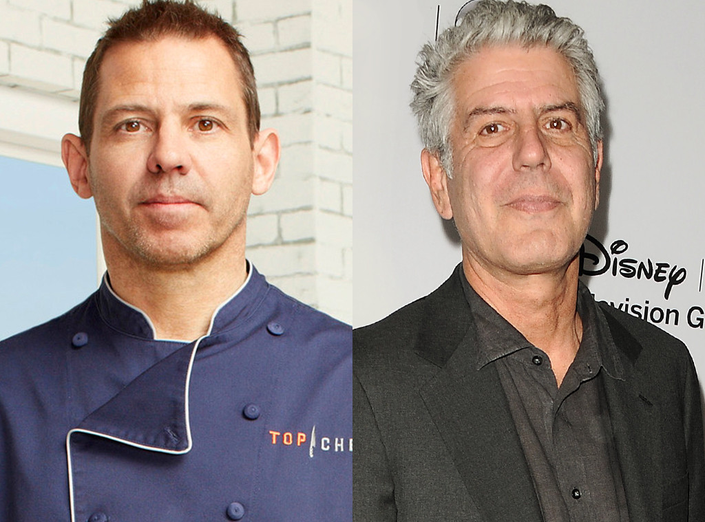 John Tesar, Anthony Bourdain