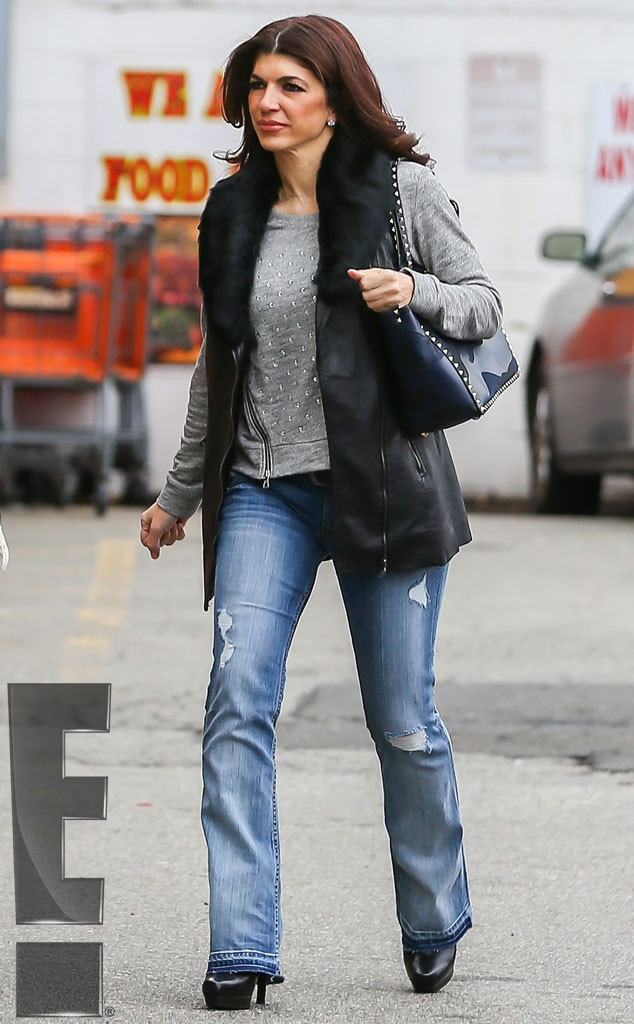 Teresa Giudice, First Outing Since Prison Release, Exclusive