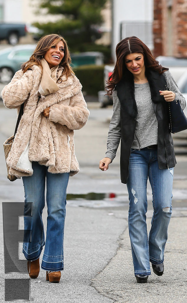 Teresa Giudice, Dolores Catania, First Outing Since Prison Release, Exclusive