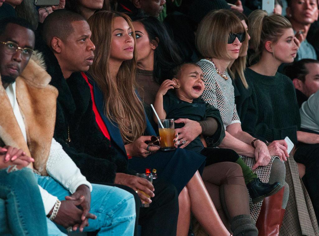 Sean Combs, Jay-Z, Beyonce, Kim Kardashian, North West, Anna Wintour